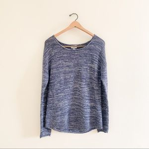 Old Navy Classic Blue Open Knit Basic Sweater
